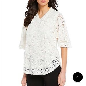 Beautiful Investments Lace Blouse